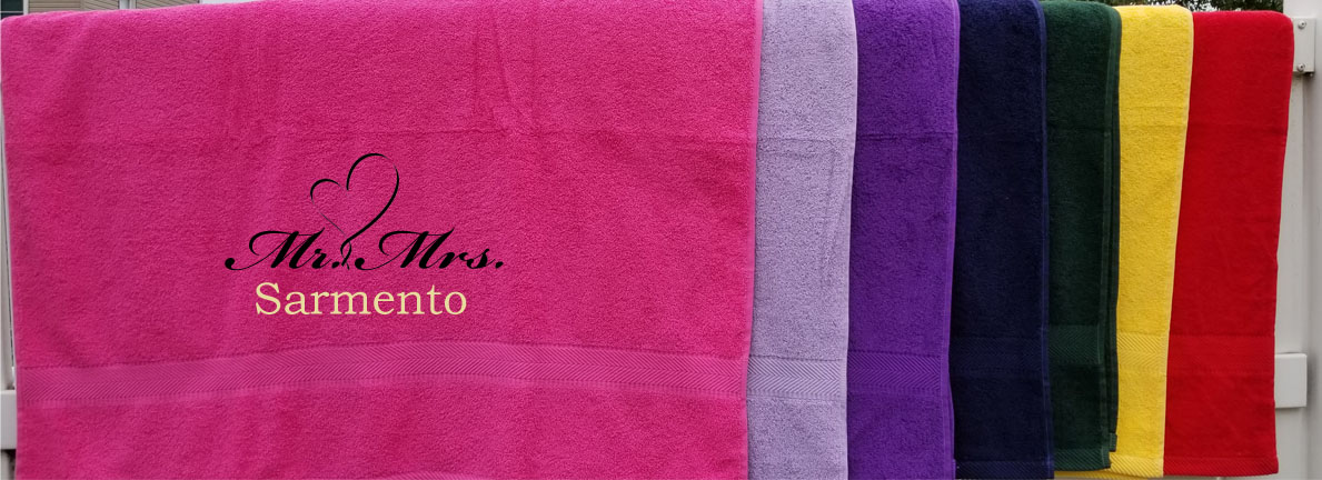 Marriage Mr Mrs Couples Towels